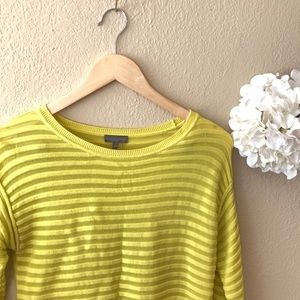 Vince Camuto Rubbed Crewneck Sweater